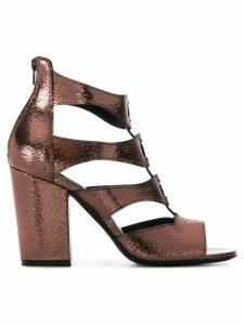 Strategia strappy sandals - Metallic