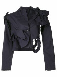 Roberts Wood structured fitted jacket - Blue