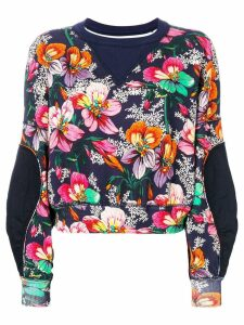 Isabel Marant Zodilon sweatshirt - Blue