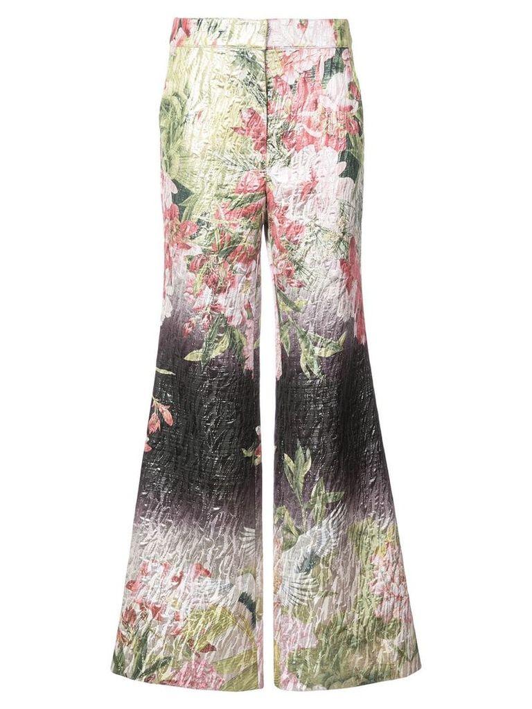 Josie Natori Birds Of Paradise trousers - Multicolour