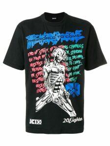 KTZ muscle lady print T-shirt - Black