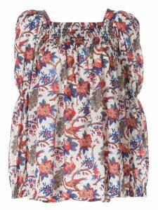 La Doublej garden print blouse - Multicolour