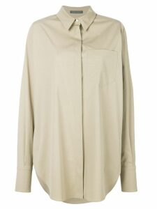 Alberta Ferretti loose fit shirt - NEUTRALS