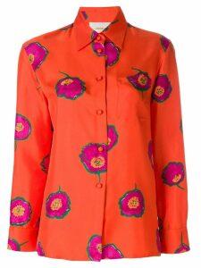 La Doublej floral print shirt - Yellow