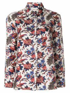 La Doublej garden print shirt - Multicolour