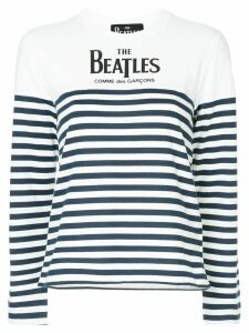 Comme Des Garçons Play The Beatles jumper - White
