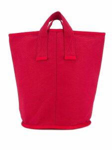 Cabas medium Laundry tote - Red