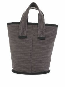 Cabas small Laundry tote - Brown