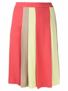 Moschino Pre-Owned pleated short skirt - Multicolour