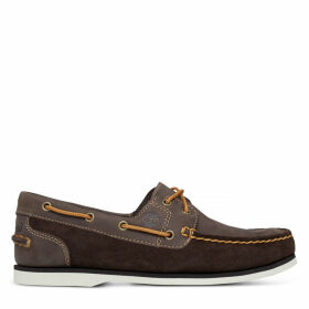 Timberland Classic Boat Shoe For Women In Brown Brown, Size 9