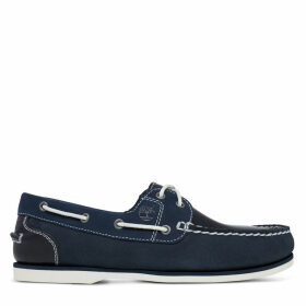 Timberland Classic Boat Shoe For Women In Navy Navy, Size 9