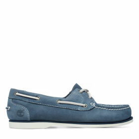 Timberland Classic Unlined Boat Shoe For Women In Navy Navy, Size 5.5