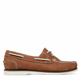 Timberland Classic Unlined Boat Shoe For Women In Brown Brown, Size 8