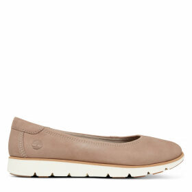 Timberland Florence Air Ballerina For Women In Taupe Taupe, Size 8