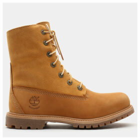 Timberland Authentics Teddy Fleece Boot For Women In Yellow Yellow, Size 9