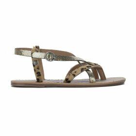 Malibu Leo Leather Sandals