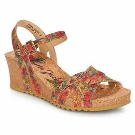Panama Jack  VERA  women's Sandals in Red