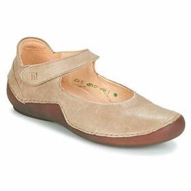 Think  ZIBEU  women's Shoes (Pumps / Ballerinas) in Brown