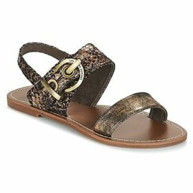 Les Petites Bombes  PERVENCHE  women's Sandals in Gold