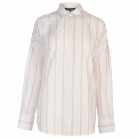 Firetrap Blackseal Stripe Shirt - Blsh/Wht Stripe