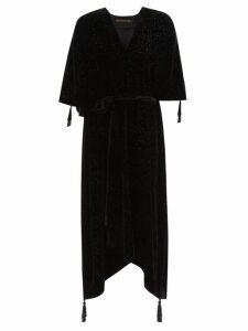 Valentino - Floral Print Chiffon Dress - Womens - Multi
