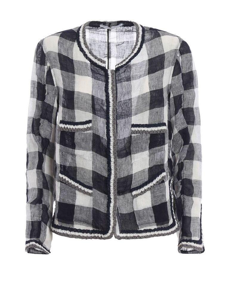 Ermanno Scervino Checkered Jacket