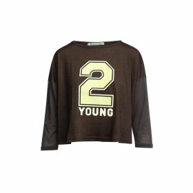 Orwell + Austen Cashmere - Love Sweater In Grey