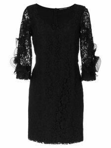 Reinaldo Lourenço lace dress - Black