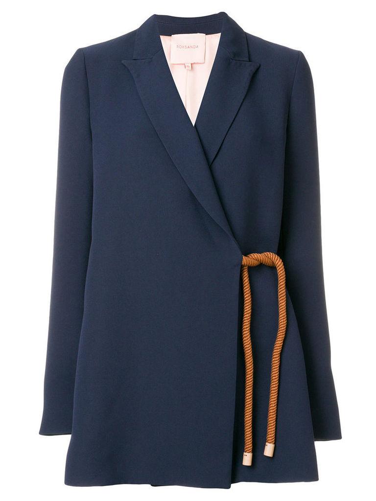 Roksanda crossover jacket - Blue