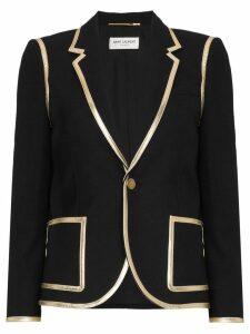 Saint Laurent classic fitted blazer - Black