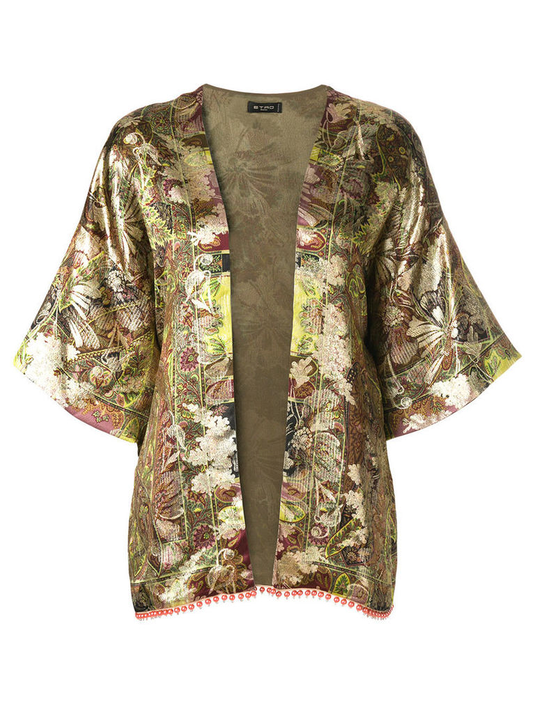 Etro patterned lightweight jacket - Multicolour