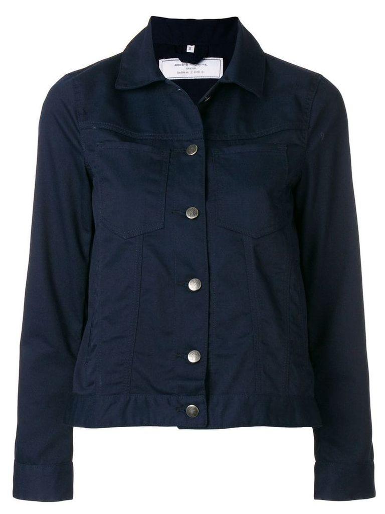 Société Anonyme J cropped jacket - Blue