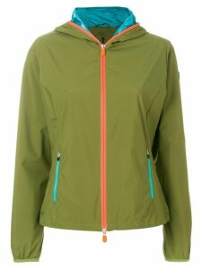 Save The Duck lightweight hooded jacket - Green