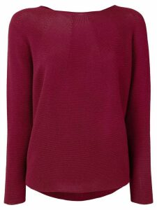 Christian Wijnants Kimo boat-neck jumper - Red