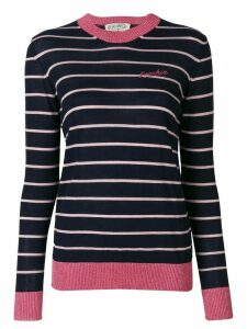 Être Cécile striped sweater - Blue