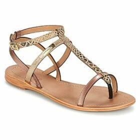 Les Tropéziennes par M Belarbi  BAIE  women's Sandals in Gold