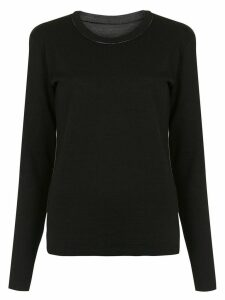 Uma Raquel Davidowicz reversible Citron blouse - Black