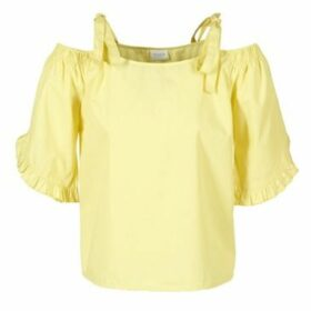 Vila  VIMORNI  women's Blouse in Yellow