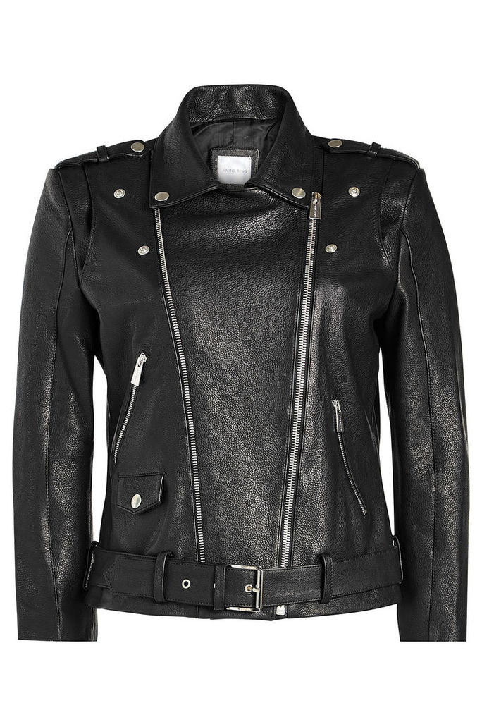 Anine Bing Leather Biker Jacket
