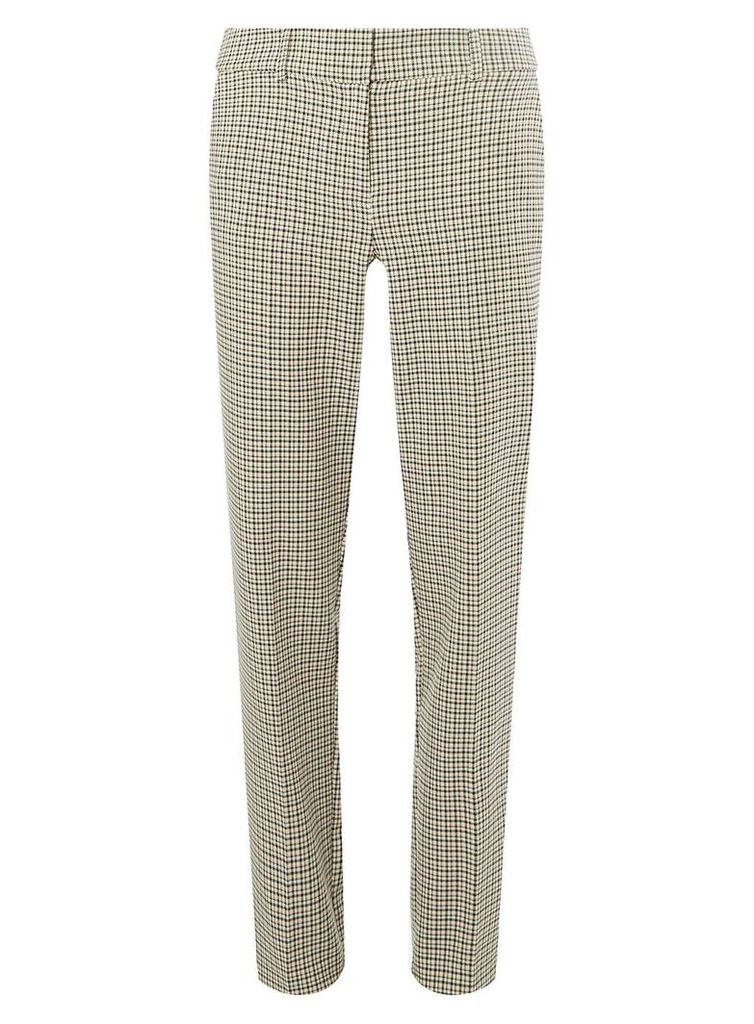 Womens **Tall Multicoloured Checked Trousers- Pink, Pink