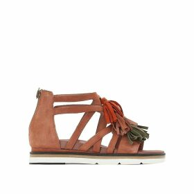 Ina Flat Leather Sandals