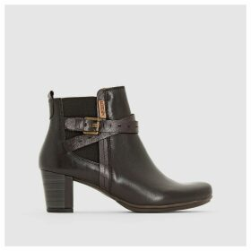 Segovia Leather Ankle Boots