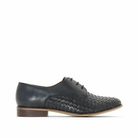 Plaited Leather Brogues