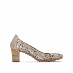 Segovia Leather Heels
