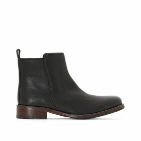 Tomina Star Leather Ankle Boots