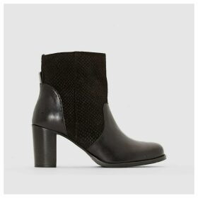 Aradello Heeled Leather Ankle Boots