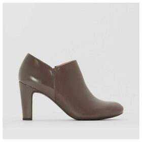 New Mariele High Leather Ankle Boots
