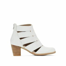 Vayle Leather Ankle Boots