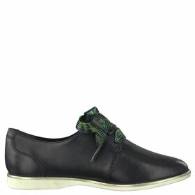 Alena Stylish Lace-Up Leather Brogues