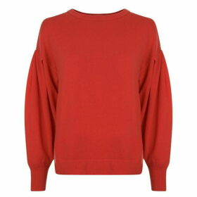 Vince Pleated Crew Jumper